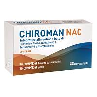 CHIROMAN NAC 20CPR+20CPS