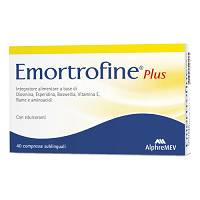 EMORTROFINE PLUS 40CPR