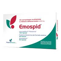 EMOSPID Integratore 800 mg 20 Compresse