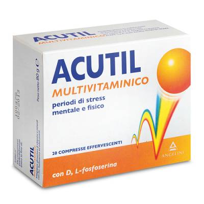 ACUTIL Multivit Effervescente 20 cpr